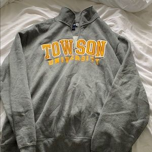 Towson university crewneck style sweatshirt